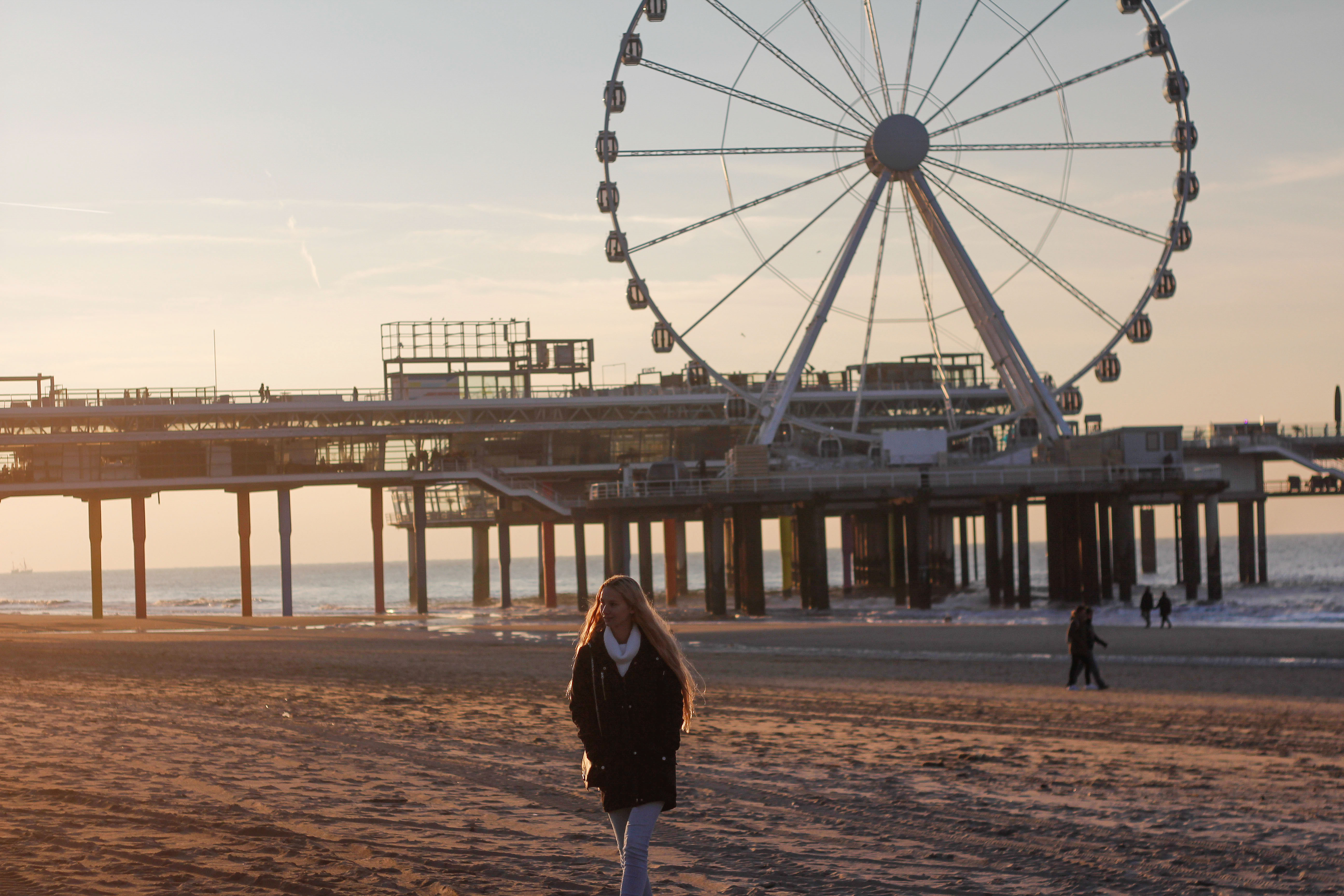 Beach walks in Scheveningen