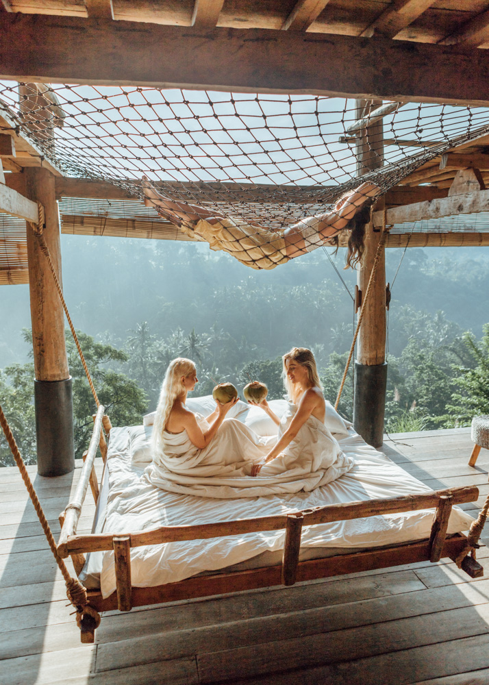 Jungle sleepover at Zen Hideaway Bali